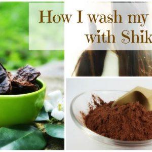 DIY Shampoo and Conditioner – How I wash my hair with SHIKAKAI