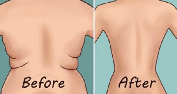 These 4 Simple Exercises Will Help You Eliminate Back Fat