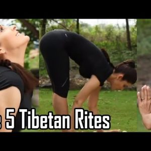 VIDEO: 5 Tibetan Exercises You Should Be Doing Everyday To Stay Youthful & Energized