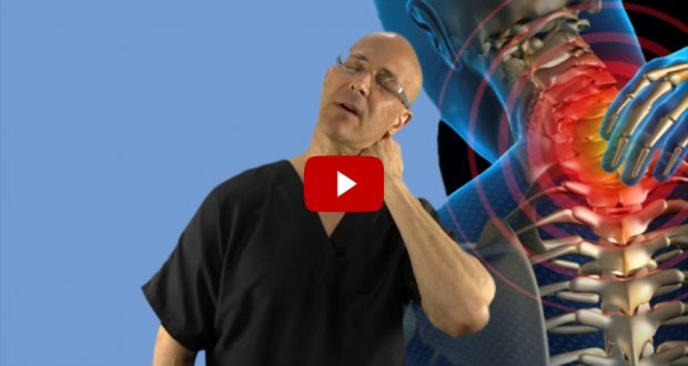 VIDEO: Dr. Mandell Has Great Set of Techniques Which Will Help You to Relieve Your Stiff Neck