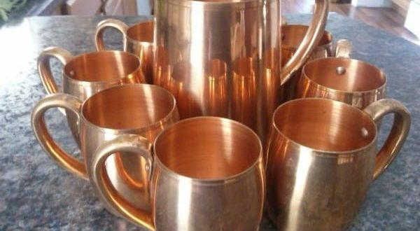 Advice of the Day: Use Copper to Change Your Health Life Just by Drinking from It