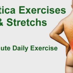VIDEO: One Minute Exercise to Relief the Sciatica Nerve Pain and Cure Sciatica
