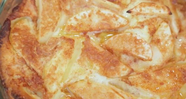 PERFECT: Mixture of apples, eggs and milk: Dessert You've Never Heard Of (VIDEO)
