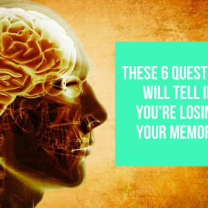 Quiz To Tell You If You're Losing Your Memory