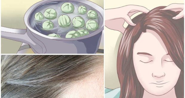 Spend Just 5 Minutes and Say Goodbye to White Hair Once and Forever