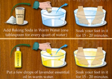 Home Remedies For Foot Odour…