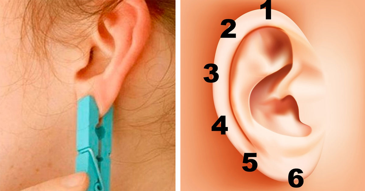 Simple and Amazing: Put A Clothespin On Your Ear and See What Happens