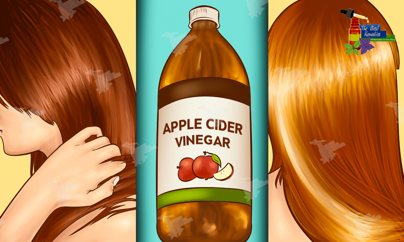Wash Your Hair with Apple Cider Vinegar and These Amazing Things Will Happen