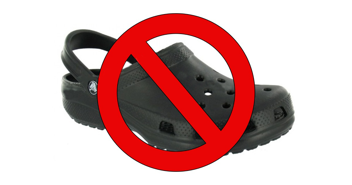 Why You Should Rethink Wearing Crocs