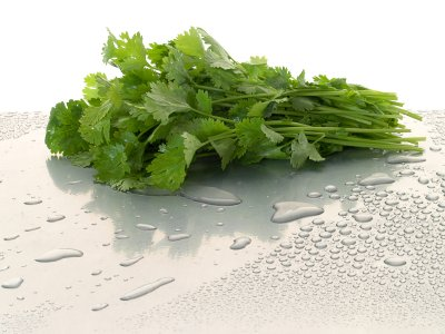 To Purify Tap Water, Use Cilantro