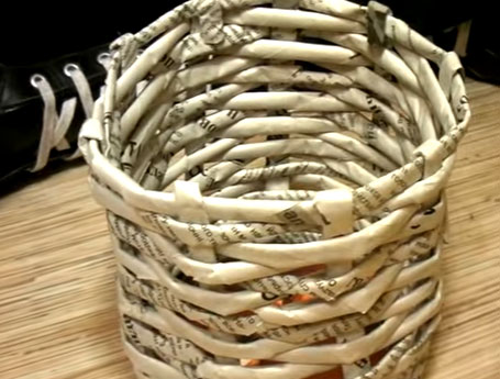 DIY Ornament Baskets