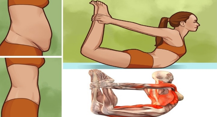 These Yoga Poses Cut Down Belly Fat In No Time!