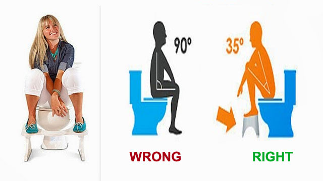 Impact Of Toilet Sitting Position To Your Health