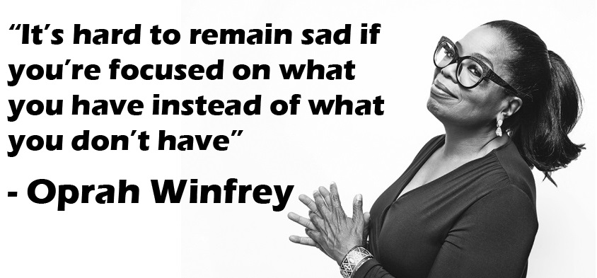 5 Rules to a Better Life, according to Oprah Winfrey