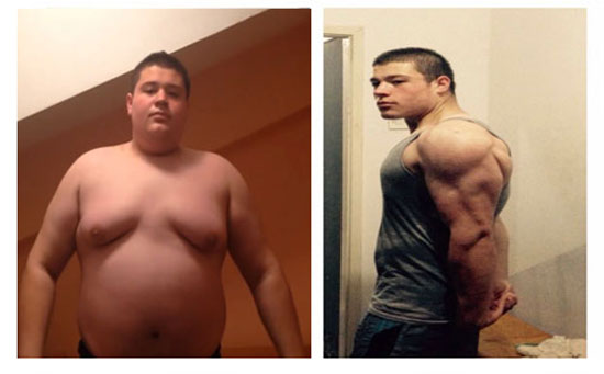 One Year Body Transformation – From Fat to Fit