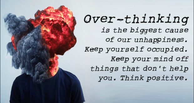 Overthinking – The Art of Creating Problems That Weren't Even There.